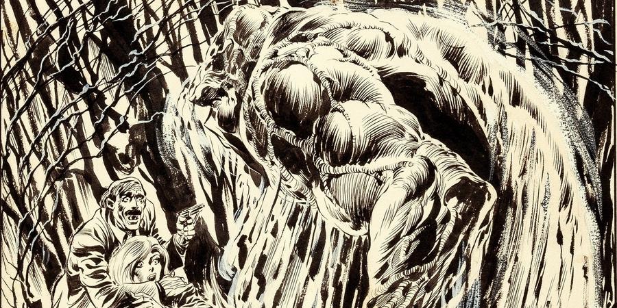 Swamp Thing Comics Stuff Ete 2019