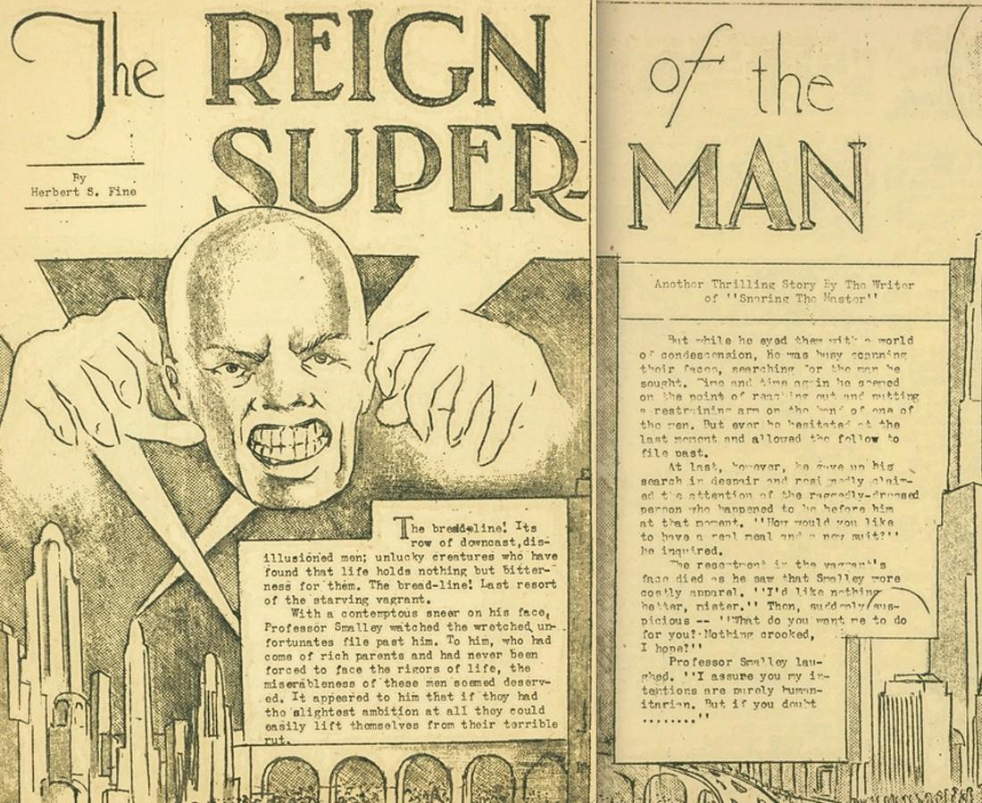 The Reign of the Superman Origine du mal