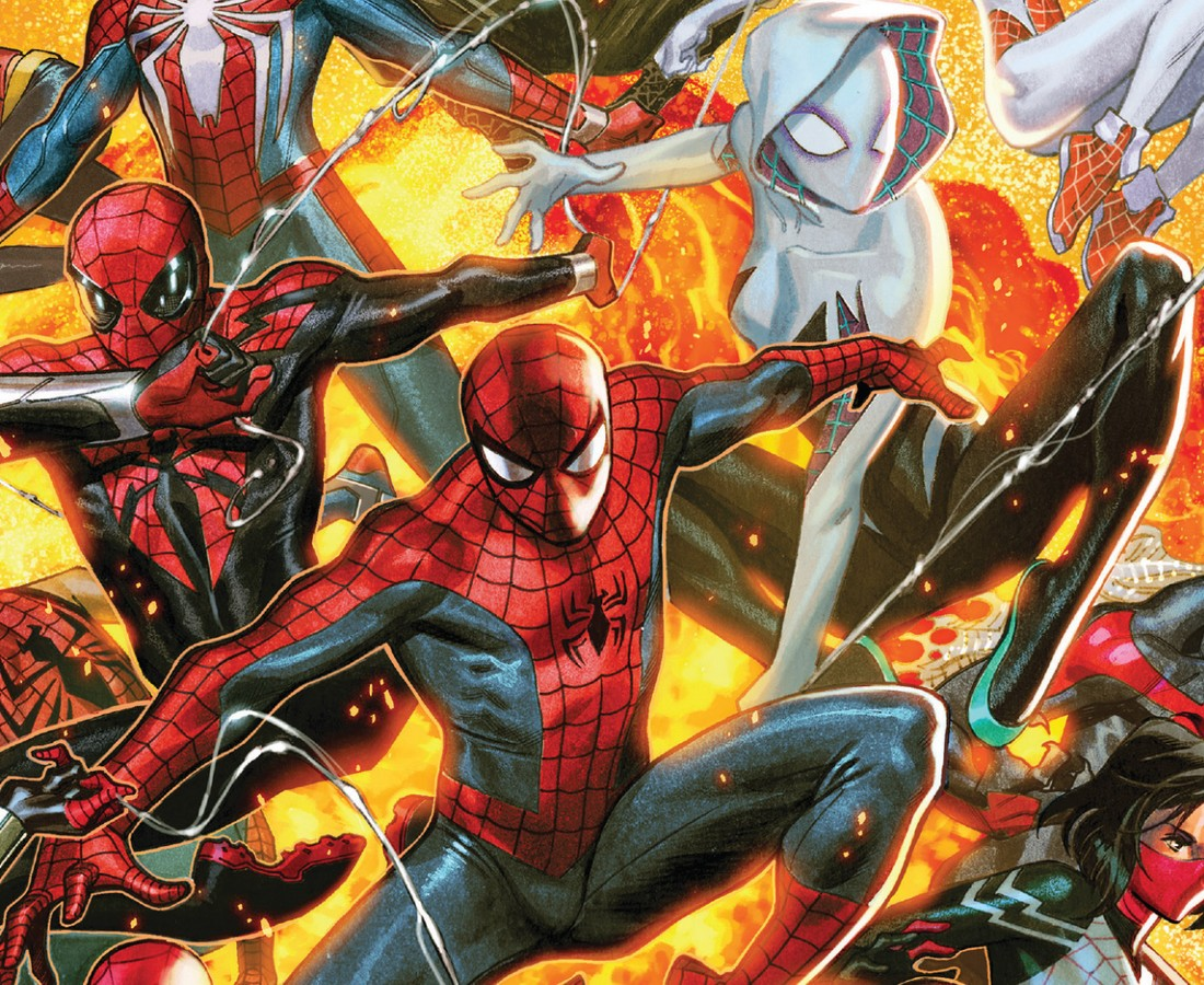 Spider-geddon Marvel Event 2019 Cover