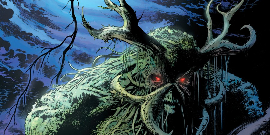 Justice League Dark Vol 01 Swamp Thing