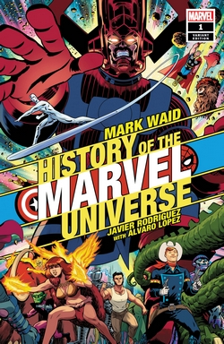 History of the Marvel Universe Javier Rodriguez