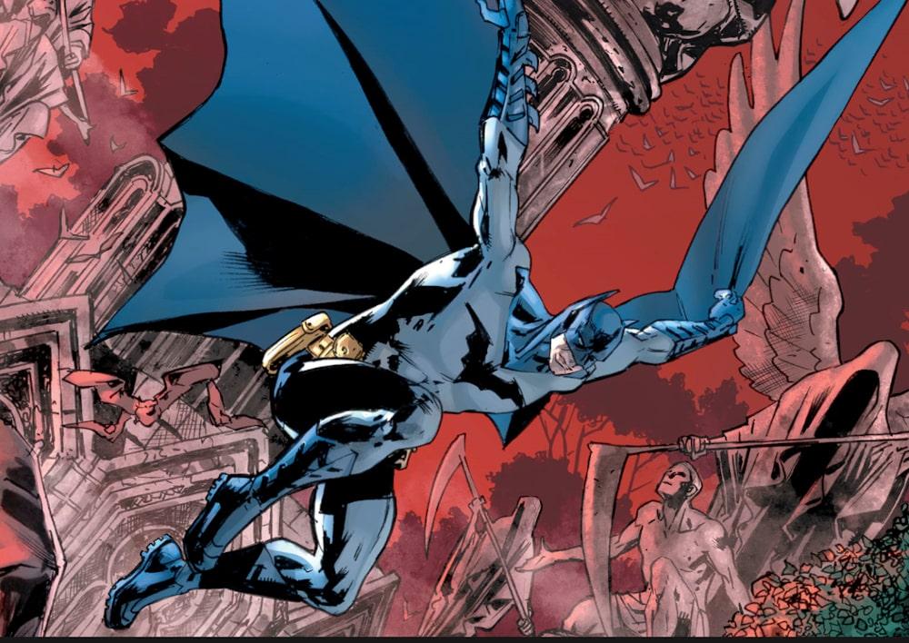 Batman Grave 01 Cover