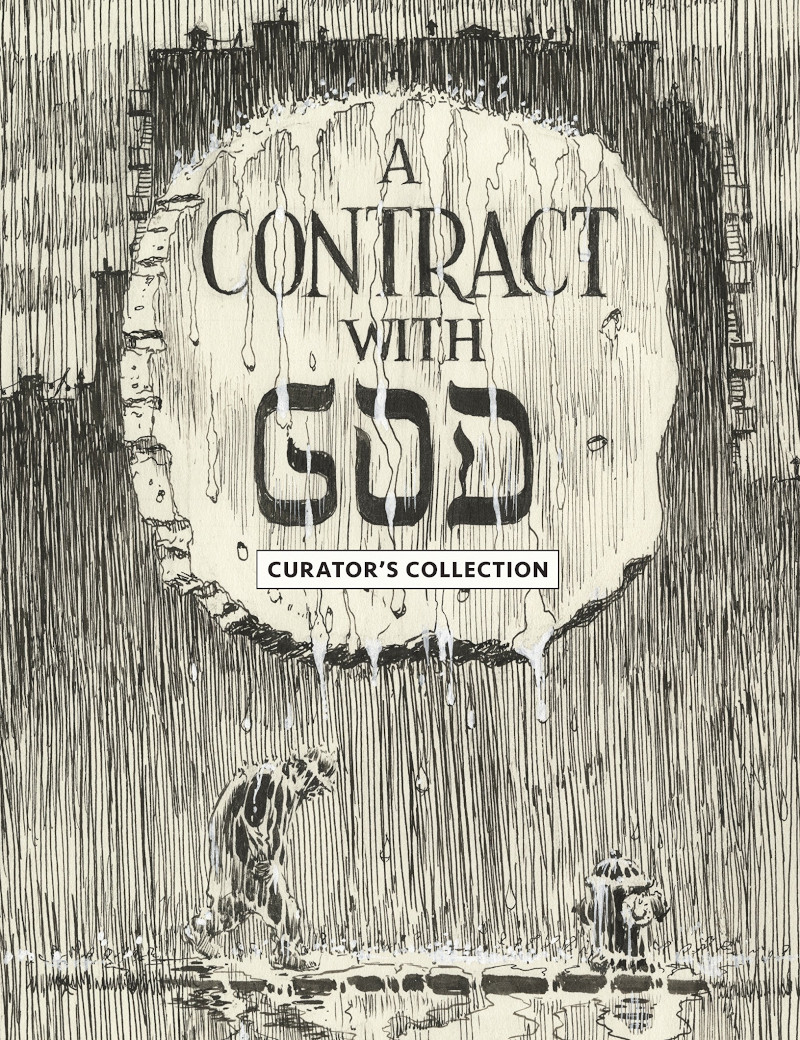 graphic novel contract with god