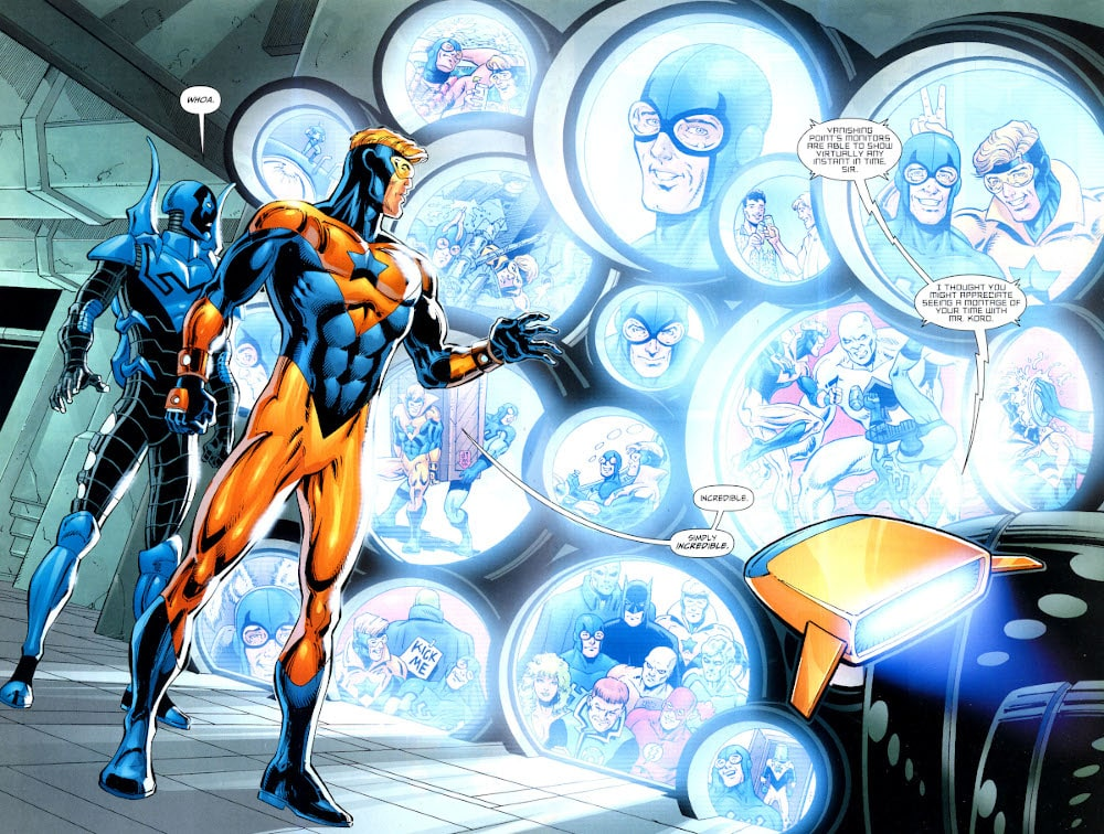 booster gold blue beetle