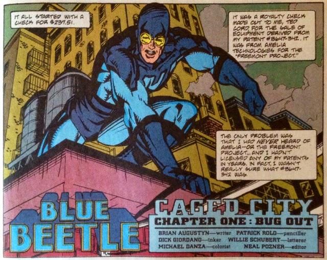 blue beetle ted kord
