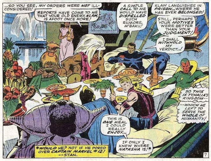 avengers panel buscema