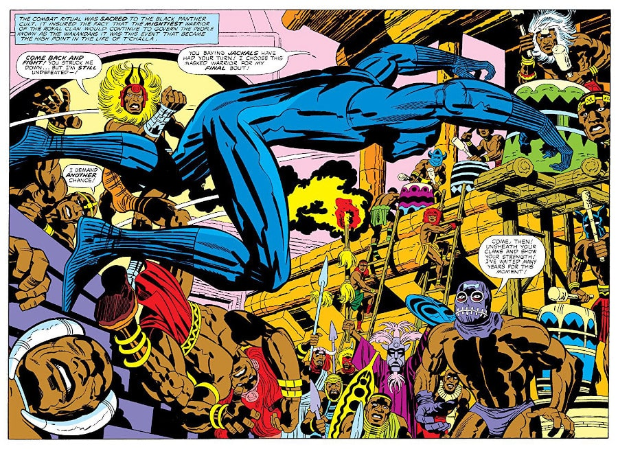 black panther jack kirby