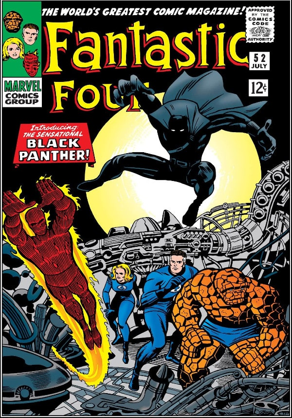 fantastic four black panther