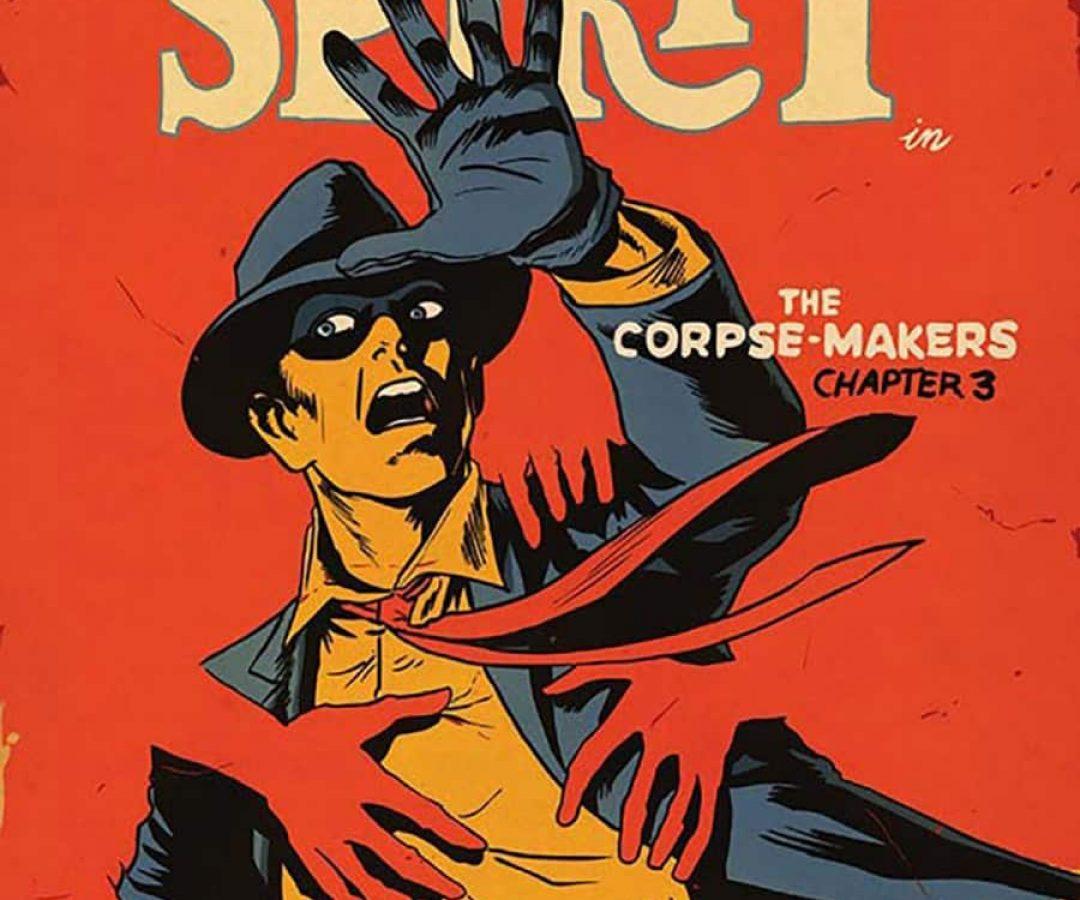 The Spirit : The Corpse-Makers, l'enquête pulp aux couleurs chaudes