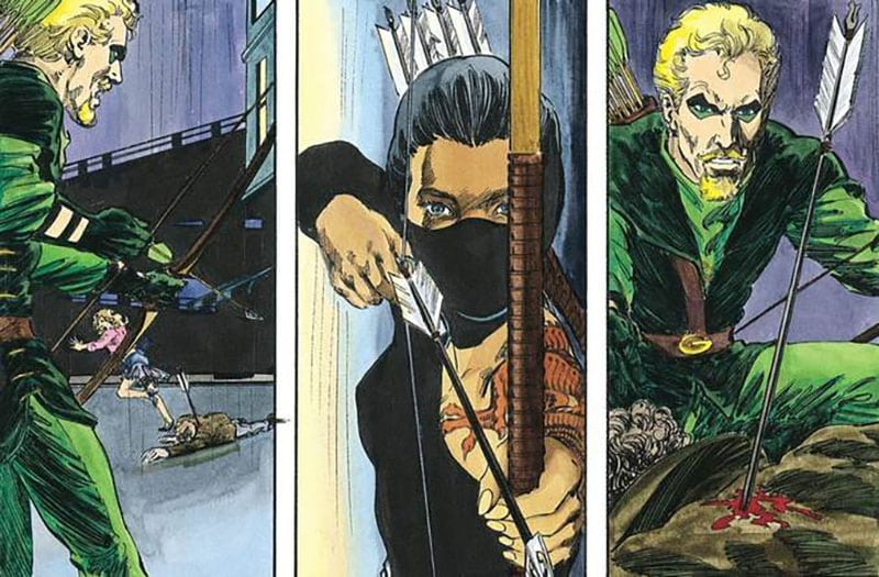 Green Arrow Shado Mike Grell