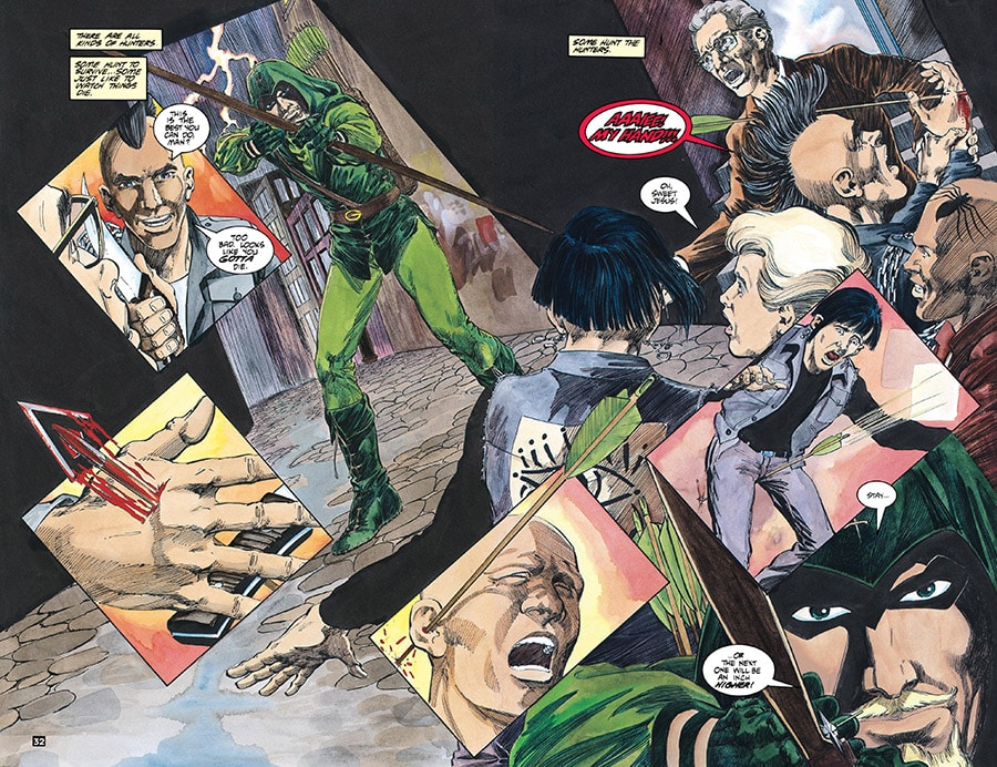 green arrow mike grell issue 1